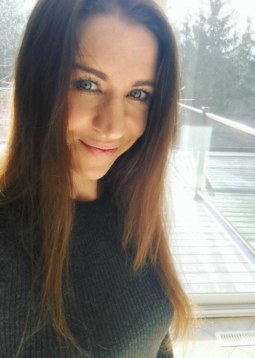 Pattie Mallette as seen in an Instagram selfie in January 2019
