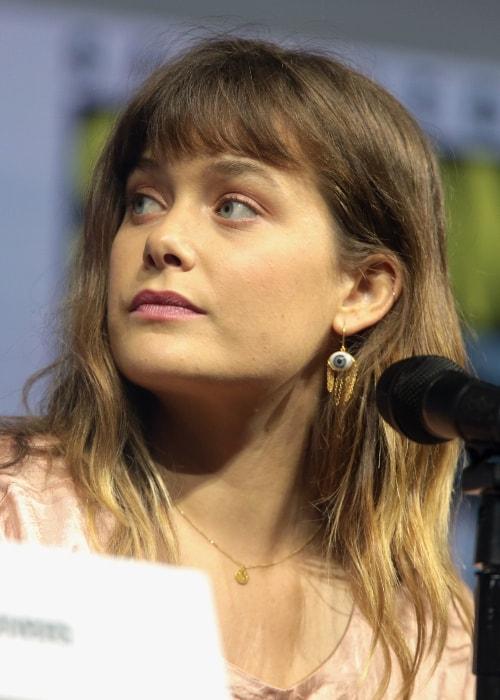 Rachel Keller as seen at the 2018 San Diego Comic-Con International