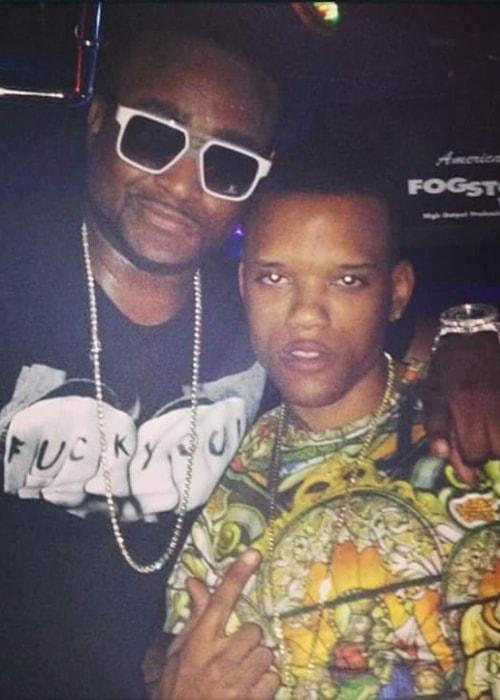 Rich Boy (Right) with rapper Shawty Lo
