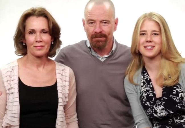 Robin Dearden (Left) with her family as seen in July 2012