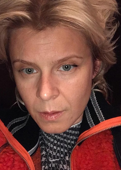 Robyn in an Instagram Selfie in May 2018