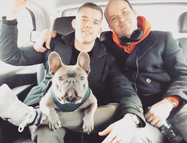 Rory Kinnear (Right) and Russell Tovey as seen in December 2018