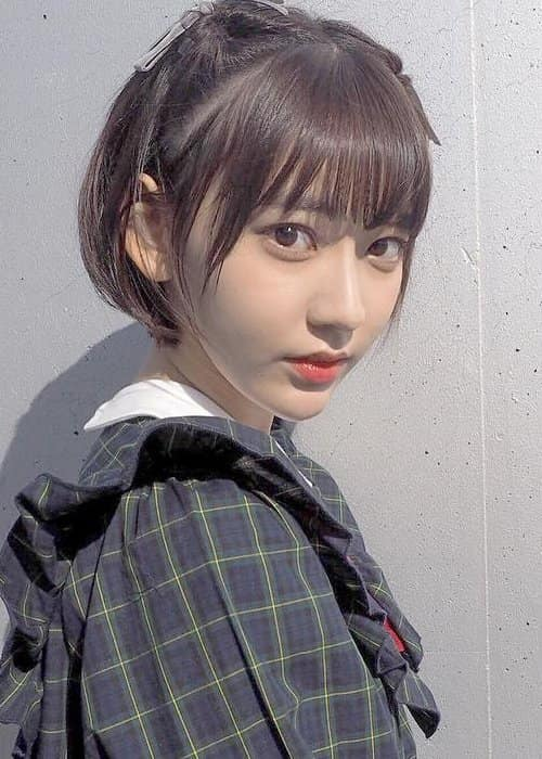 Sakura Miyawaki in an Instagram post as seen in January 2017