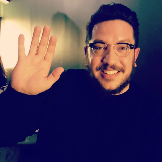 Sal Vulcano in a picture taken at the SVA Theatre in February 2016