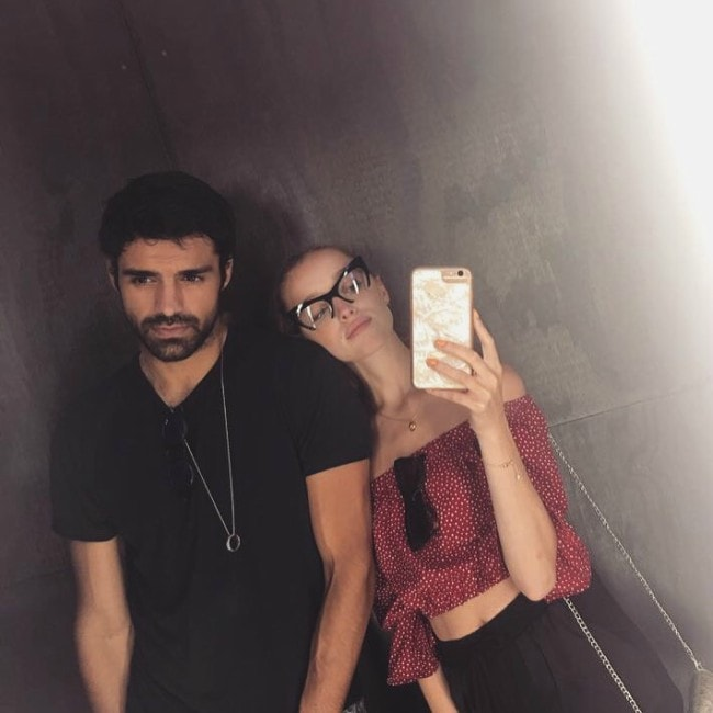 Sean Teale as seen with Phoebe Dynevo in August 2017