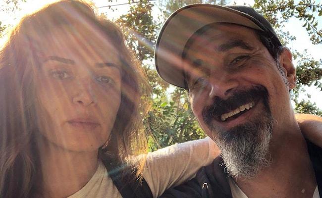 Serj Tankian with his Wife Angela Madatyan in November 2018