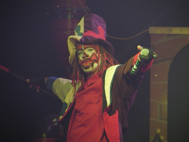Shaggy 2 Dope at the Wicked Wonka 2003 tour