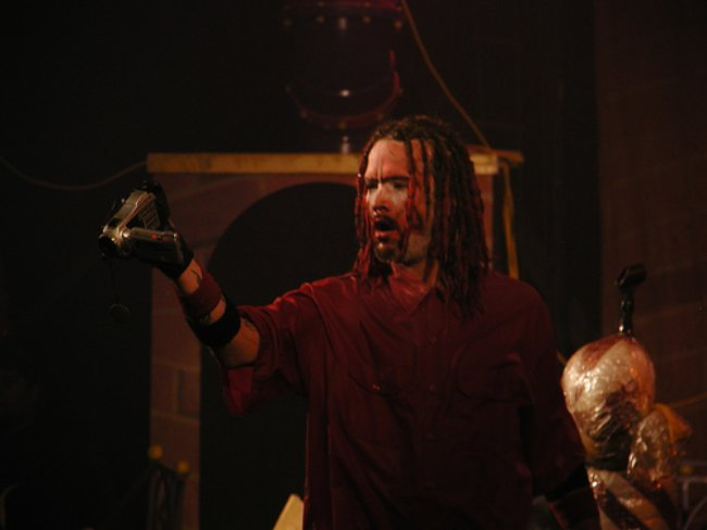 Shaggy 2 Dope during a performance at the Wicked Wonka tour in 2003