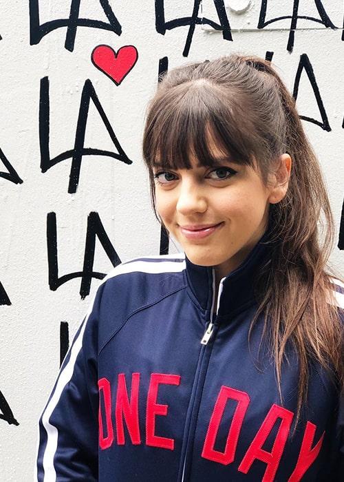 Sheridan Pierce as seen on her Instagram in February 2019