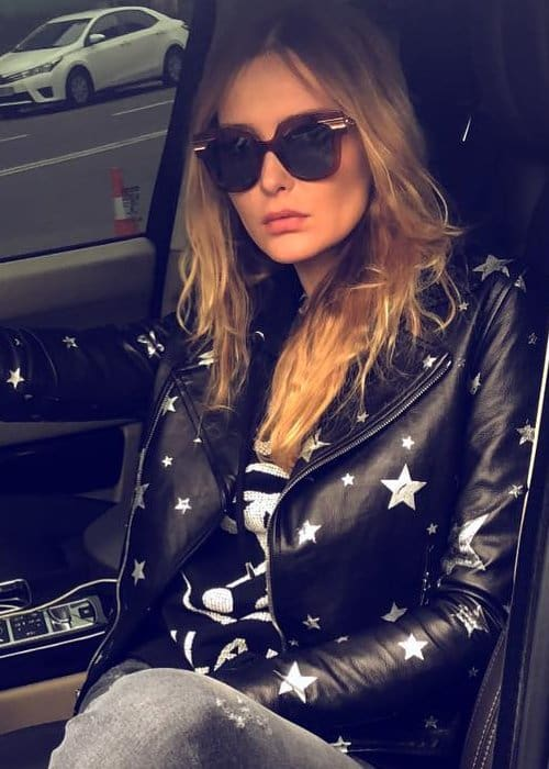 Snejana Onopka in an Instagram post in October 2018