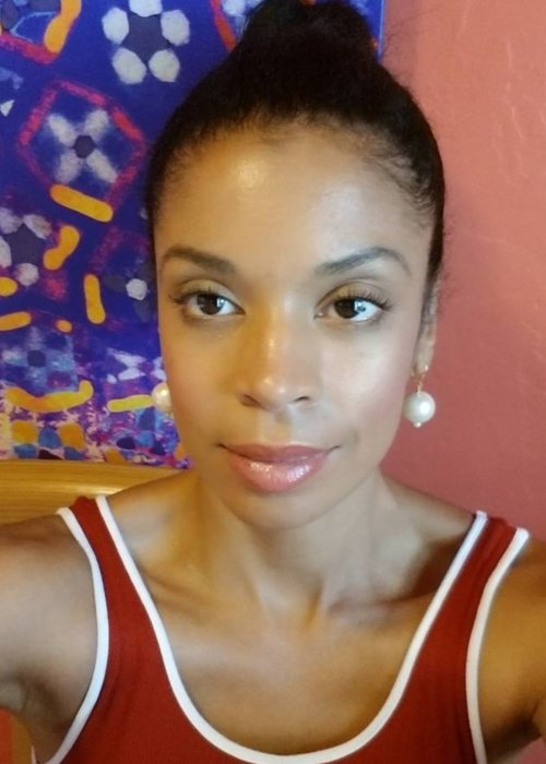 Susan Kelechi Watson in an Instagram selfie as seen in October 2017