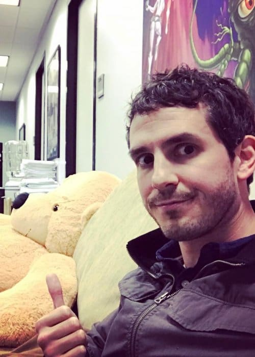 Tate Ellington in a selfie as seen in February 2017