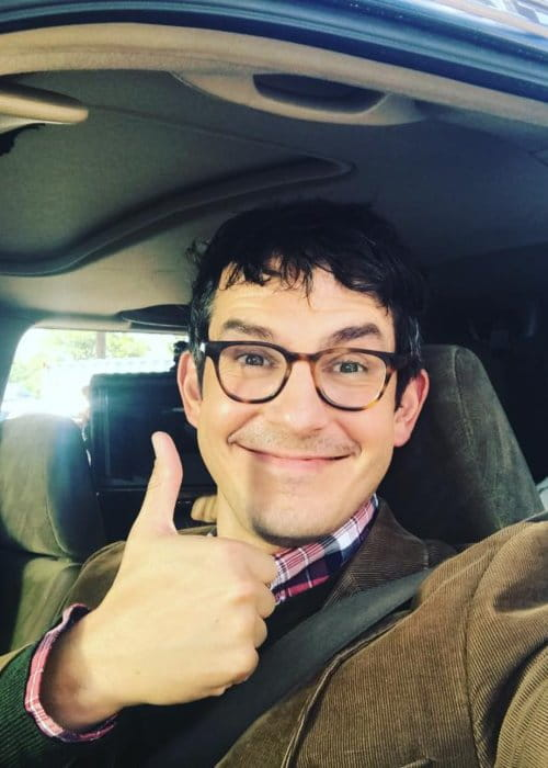 Tate Ellington in a selfie in October 2017