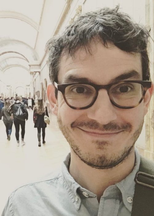 Tate Ellington in an Instagram selfie as seen in March 2017