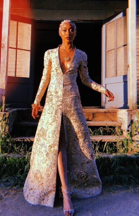 Tati Gabrielle all dressed-up