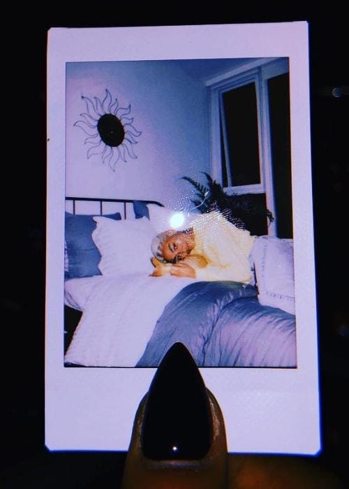 Tati Gabrielle as seen in a polaroid picture