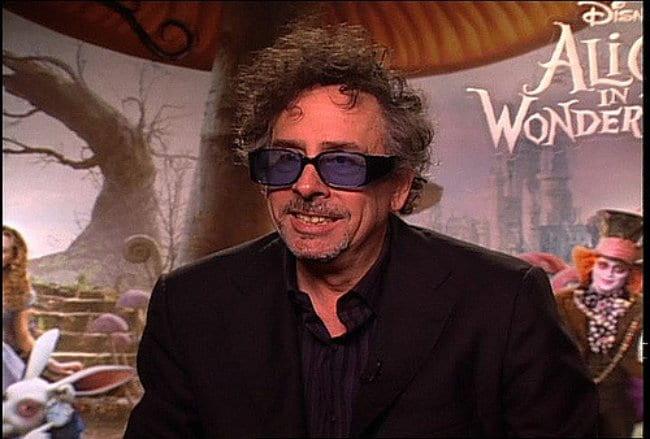 Tim Burton as seen in February 2010