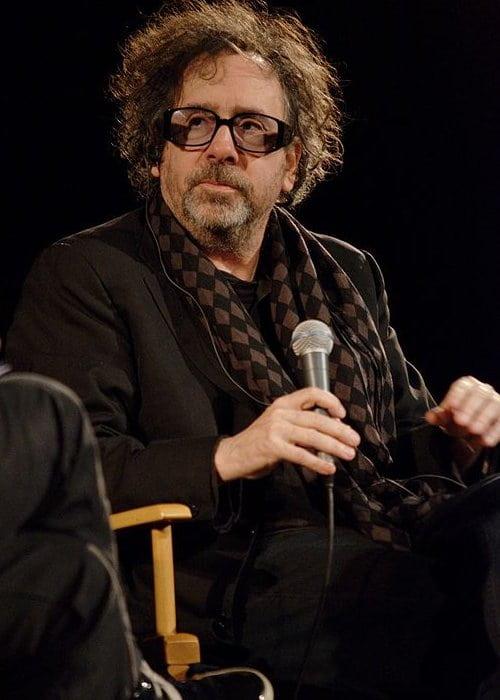 Tim Burton at the Cinémathèque Française in March 2012