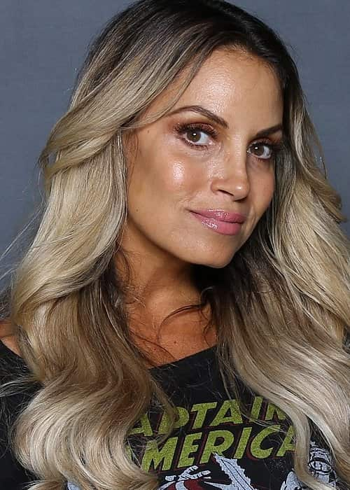 Trish Stratus as seen in July 2018
