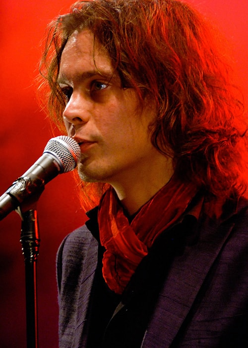 Ville Valo Performing at the Ilosaarirock 2007 Festival