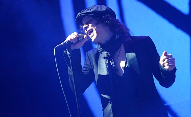 Ville Valo Performing at the Nova Rock-Festival in 2013