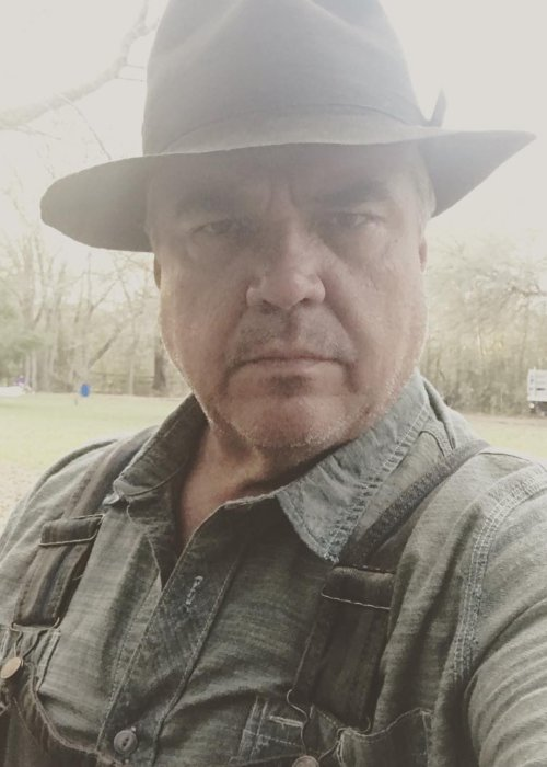 W. Earl Brown in a selfie in February 2018