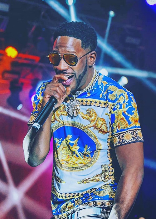 Young Dro Performing as seen on his Instagram profile in February 2019