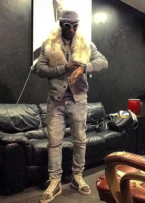 Young Dro as seen on his Instagram profile in January 2019