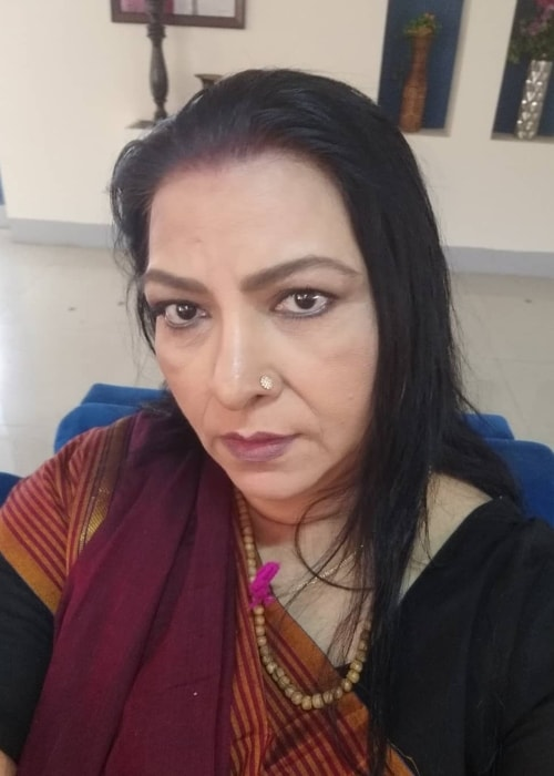 Abha Parmar as seen in a selfie taken in Mira Road in December 2018