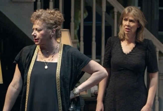 Amy Morton and Rondi Reed (Left) in the play 'August Osage County' by Tracy Letts and directed by Anna D. Shapiro in 2007