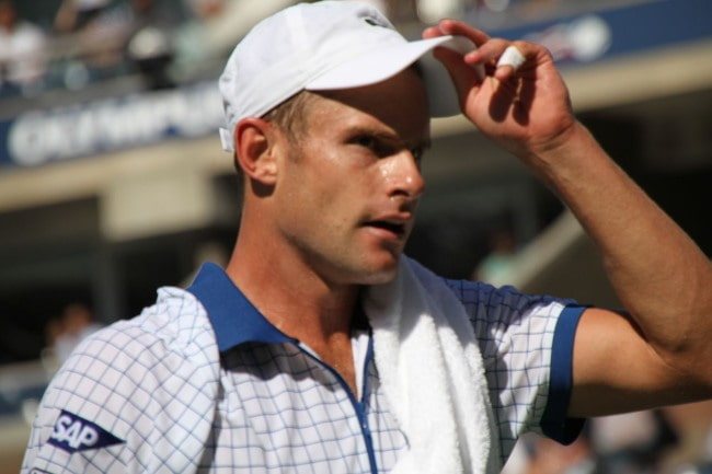 Andy Roddick as seen in August 2010