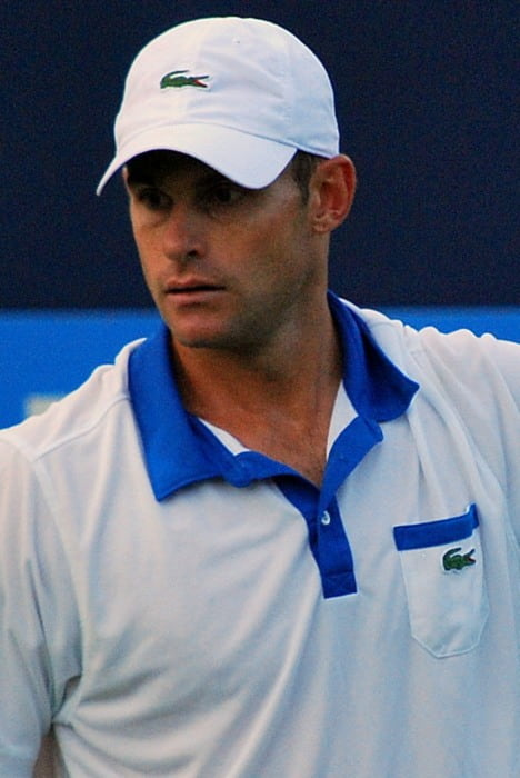 Andy Roddick at the Queen's Championships in June 2012