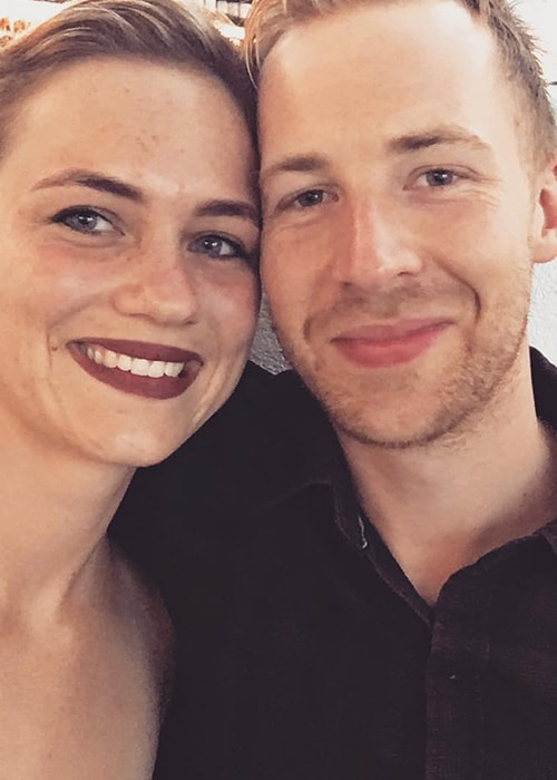 Angus McLaren with his Girlfriend Anneliese Apps as seen in March 2018