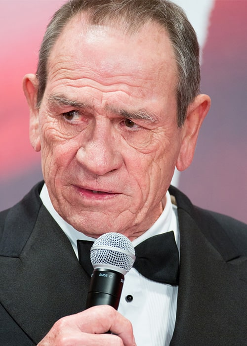 Another Still of Tommy Lee Jones at the Opening Ceremony of the Tokyo International Film Festival in 2017
