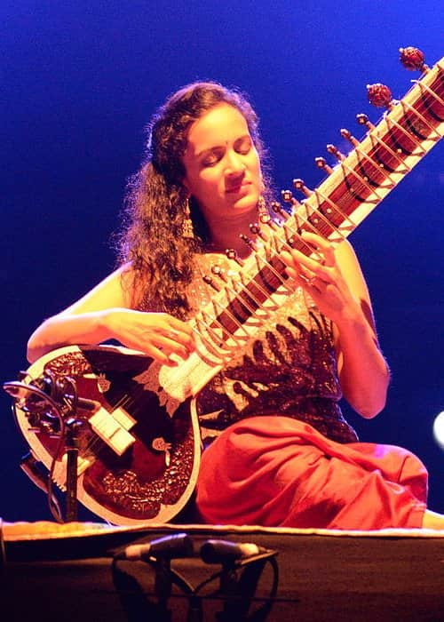 Anoushka Shankar during a performance in August 2014