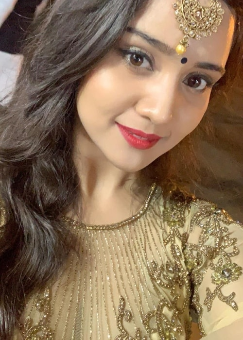 Ashi Singh as seen in a picture taken in March 2019