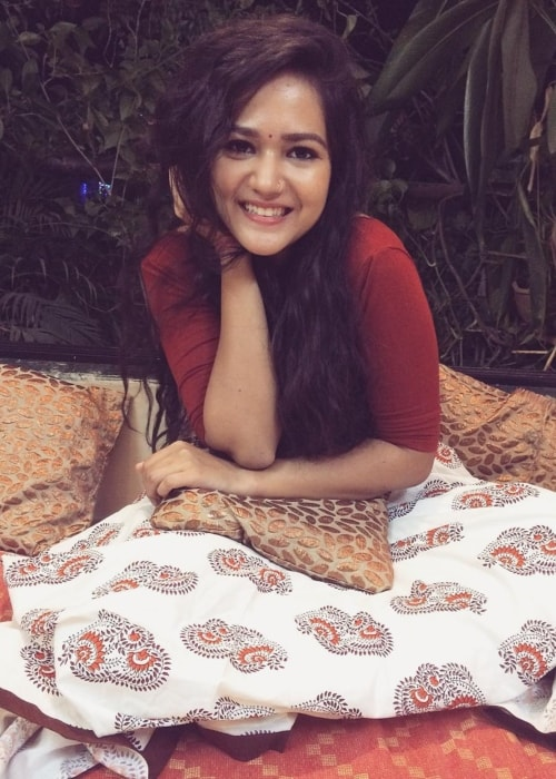 Ayesha Kaduskar as seen in a picture taken in October 2017
