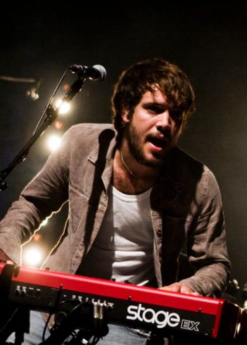 Ben Lovett as seen in September 2010