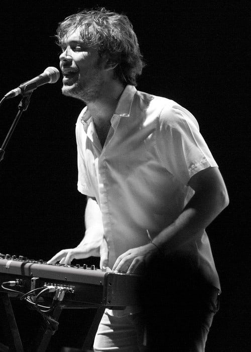Ben Lovett during a performance in July 2012