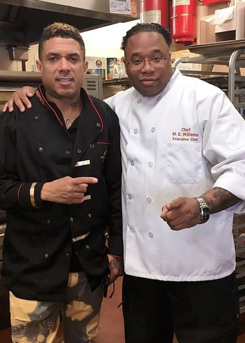 Benzino with Chef Milas as seen on his Instagram Profile in February 2019