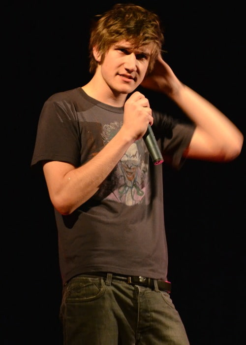 Bo Burnham during an event in April 2012
