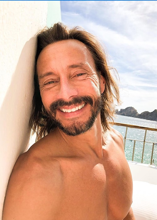 Bob Sinclar in an Instagram Selfie in December 2018