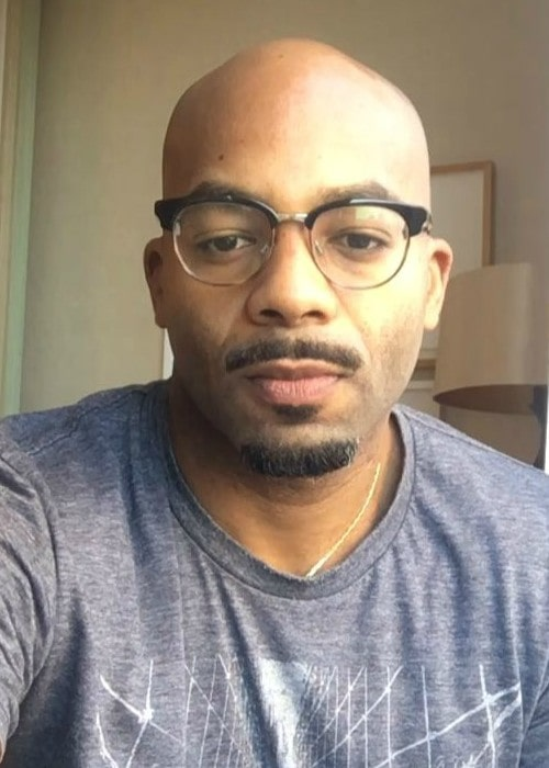 Brandon Victor Dixon in an Insagram selfie as seen in March 2018