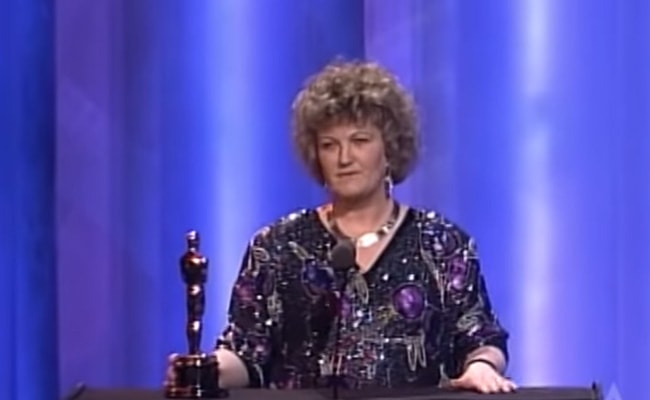 Brenda Fricker Wins Best Supporting Actress at the 1990 Oscars