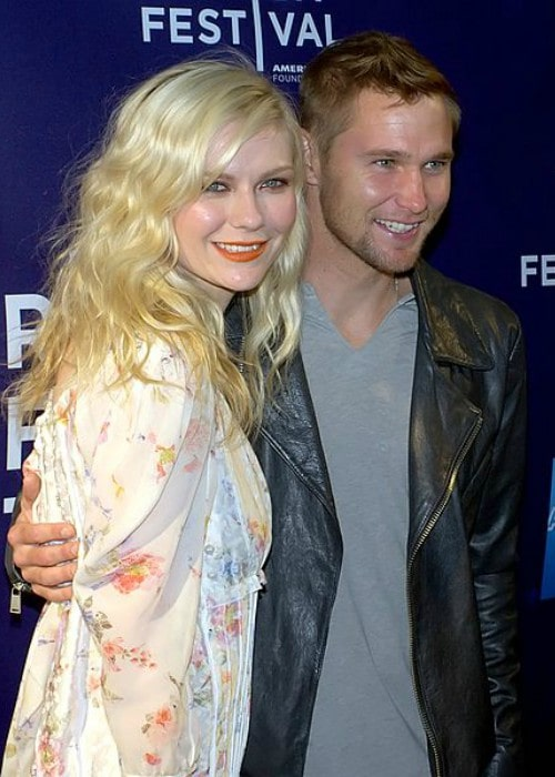 Brian Geraghty as seen with Kirsten Dunst at the Tribeca Film Festival in 2010