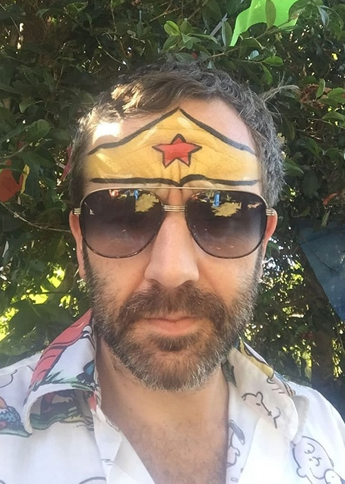 Chris O'Dowd in an Instagram Selfie in October 2017
