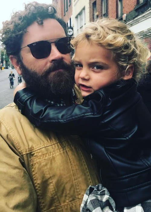 Danny Masterson with his daughter as seen in August 2018