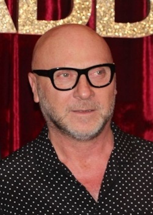 Designer Domenico Dolce of the Dolce & Gabbana luxury brand