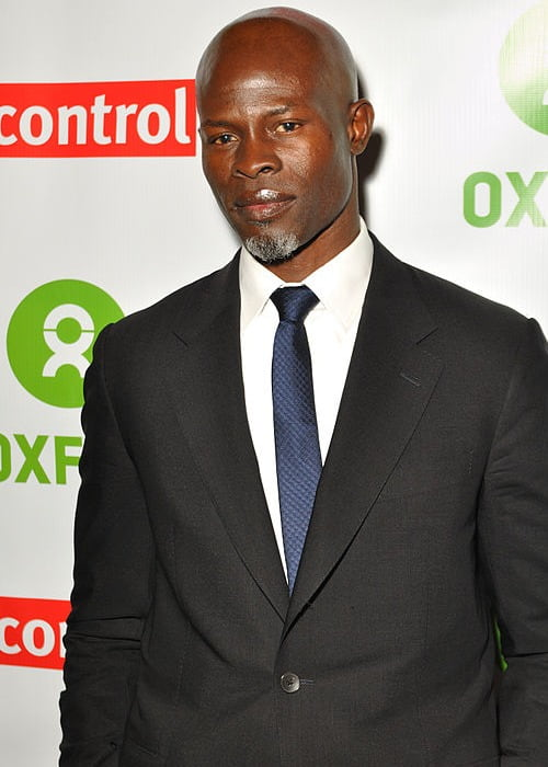 Djimon Hounsou at Final DipCon Opening Reception in March 2013