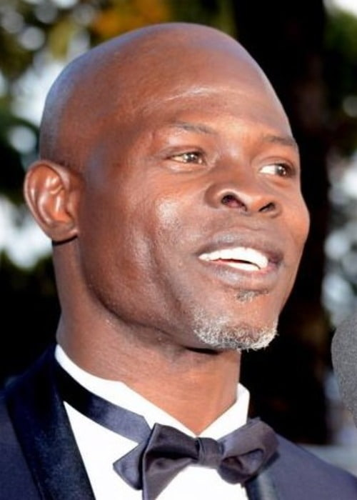 Djimon Hounsou at the Cannes Film Festival as seen in May 2014